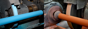 custom covered printing press rollers